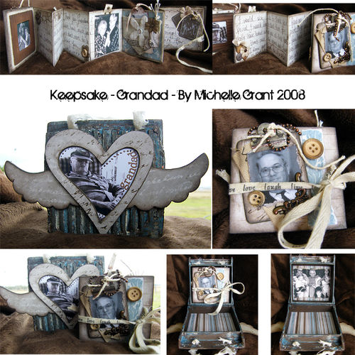 Keepsake - Grandad - by Michelle Grant 2008