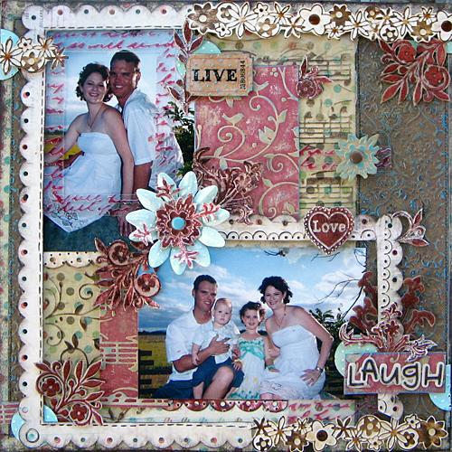 Live, Love, Laugh - Cuttlebug Workshop