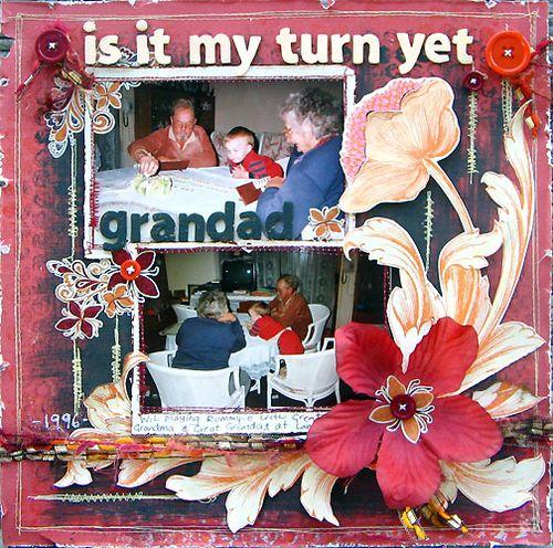Is it my turn yet Grandad