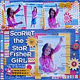 Scarlet the Star Fisher Girl