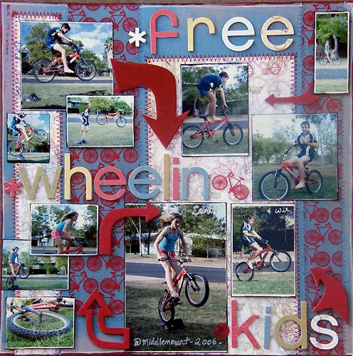 Free Wheelin Kids - By Michelle