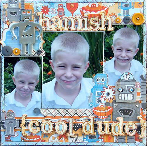 Hamish  - Cool Dude