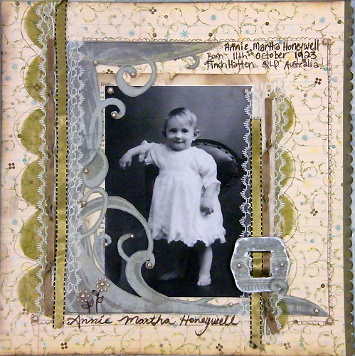 Annie Martha Honeywell